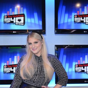 Meghan Trainor Big Top 40 Studio