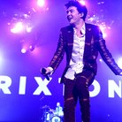 Rixton performing on Ariana Grande honeymoon tour