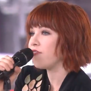 Carly Rae Jepsen Good morning America