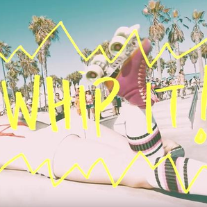 LunchMoney lewis Whip it lyric video