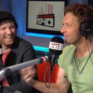 Coldplay Big Top 40 Studio