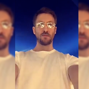 Calvin Harris on Snapchat