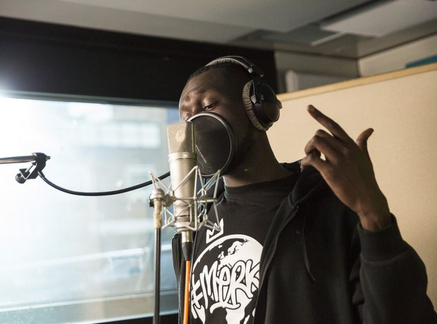 Grenfell Behind the scenes Stormzy